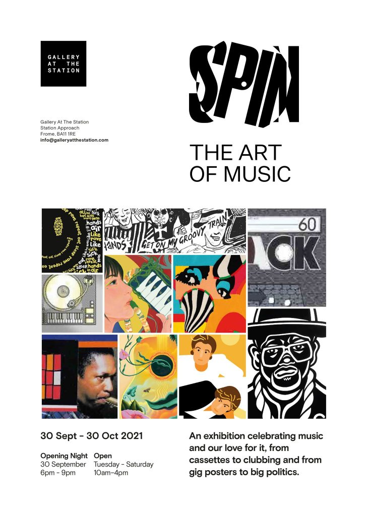 Spin: The Art of Music poster